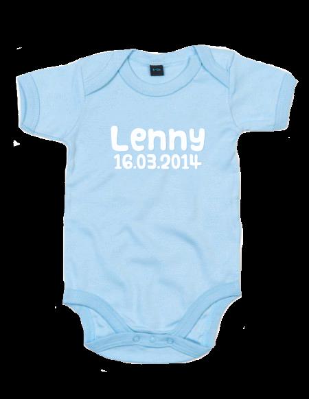 Baby Body Hellblau
