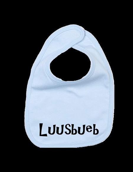 Lätzchen-Hellblau-Luusbueb